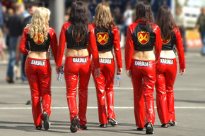 Motorsport girls