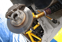 Mitsubishi Colt Evo - Front suspension